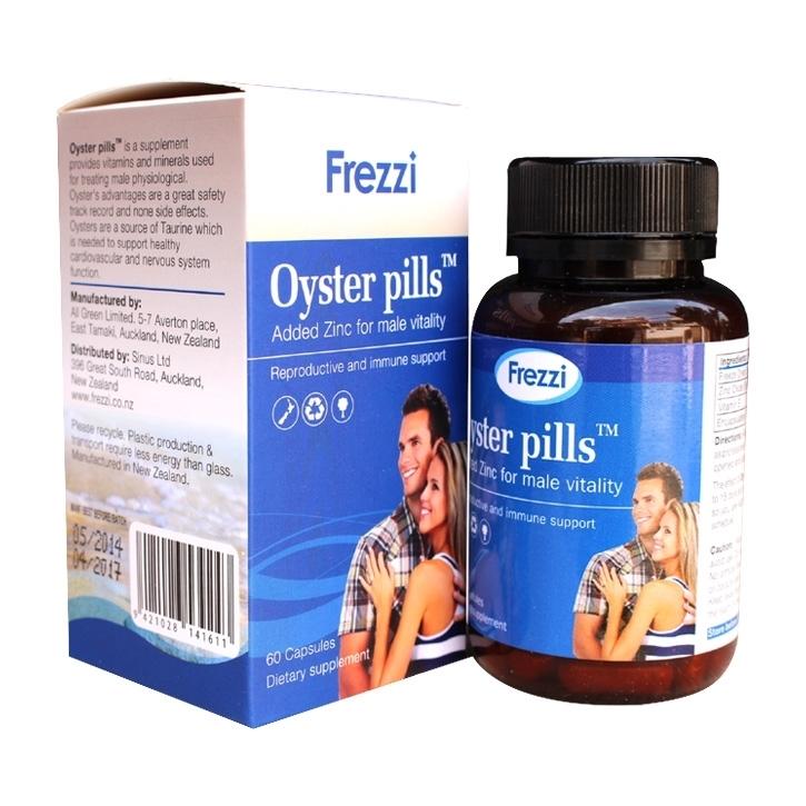 Frezzi Oyster Pills - Tăng cường sinh lý nam