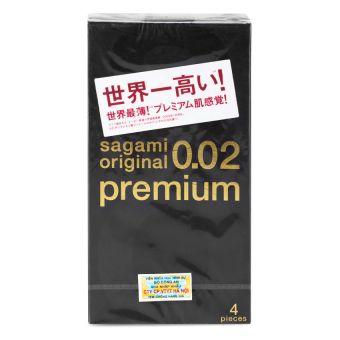 Bao cao su cao cấp nhất Sagami Original 0.02 Premium