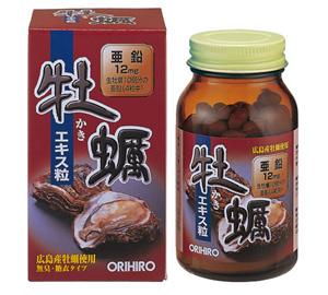 Tinh chất hàu tươi Nhật Bản Orihiro 120 viên