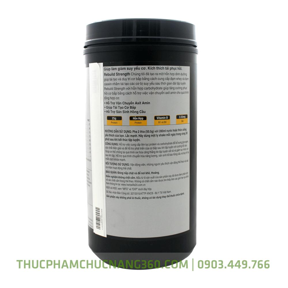 Cơ chế sản phẩm herbalife 24 Rebuild Streng