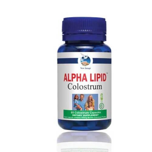 Viên sữa non Alpha Lipid Colostrum Capsules - Bổ sung kháng thể tự nhiên