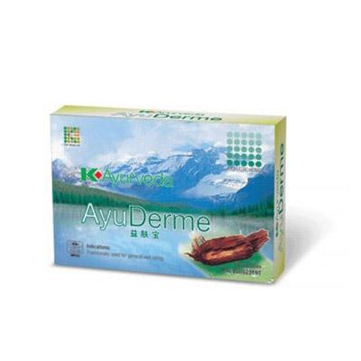 AyuDerme hỗ trợ giảm dị ứng ngừa mụn nhọt