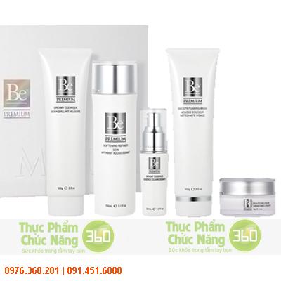 Bộ mỹ phẩm Be Premium Unicity dành cho da khô và da thường