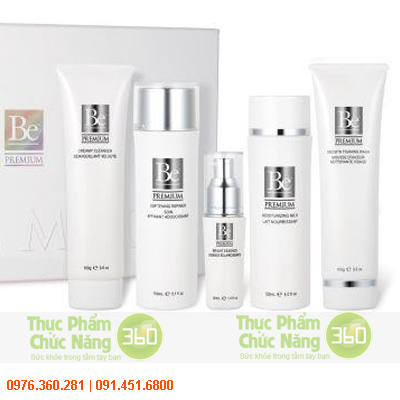 Bộ mỹ phẩm Be Premium Unicity dành cho da nhờn và da hỗn hợp