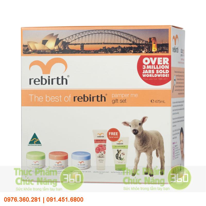 Bộ sản phẩm Pamper Me Rebirth từ Úc - Lanopearl