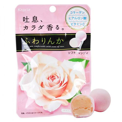 Kẹo Hoa Hồng Collagen Kracie12 viên Nhật Bản