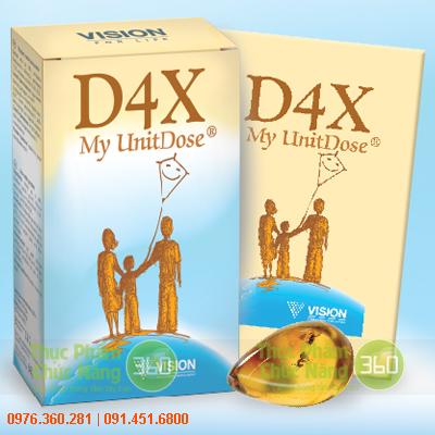 D4X - Thực phẩm chức năng Vision