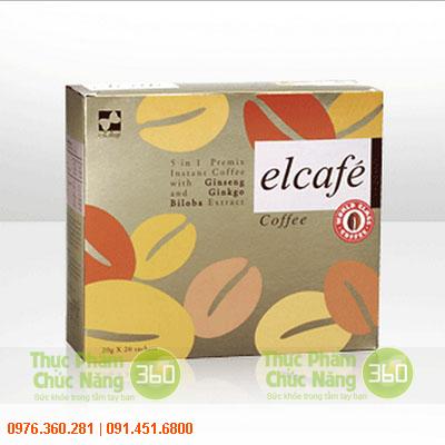 Elcafe Ginseng Elken - Cafe nhân sâm và bạch quả