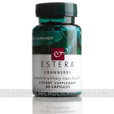 Estera Cranberry - điều trị tiểu buốt ở phụ nữ