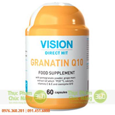 GRANATIN Q10 - Thực phẩm chức năng Vision