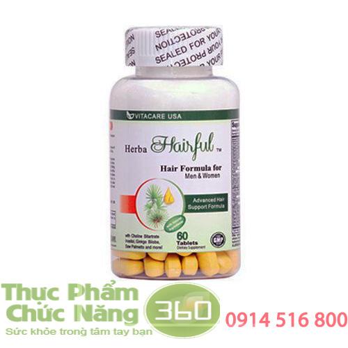 Herba Hairful thuốc mọc tóc, chống rụng tóc hiệu quả