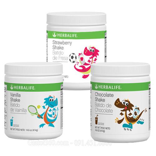 Herbalife Kids Shakes nguồn dinh dưỡng tối ưu cho trẻ nhỏ