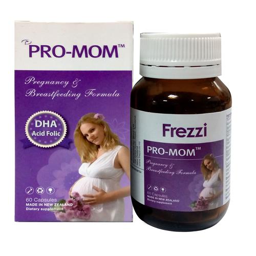 Pro Mom Frezzi bổ sung dinh dưỡng cho bà bầu