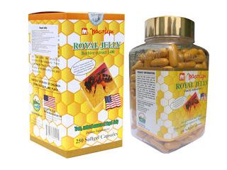 Sữa ong chúa Royal Jelly nhập khẩu từ Mỹ