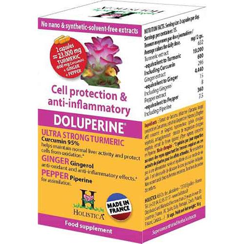 Doluperine tinh bột nghệ 100% tự nhiên của Pháp