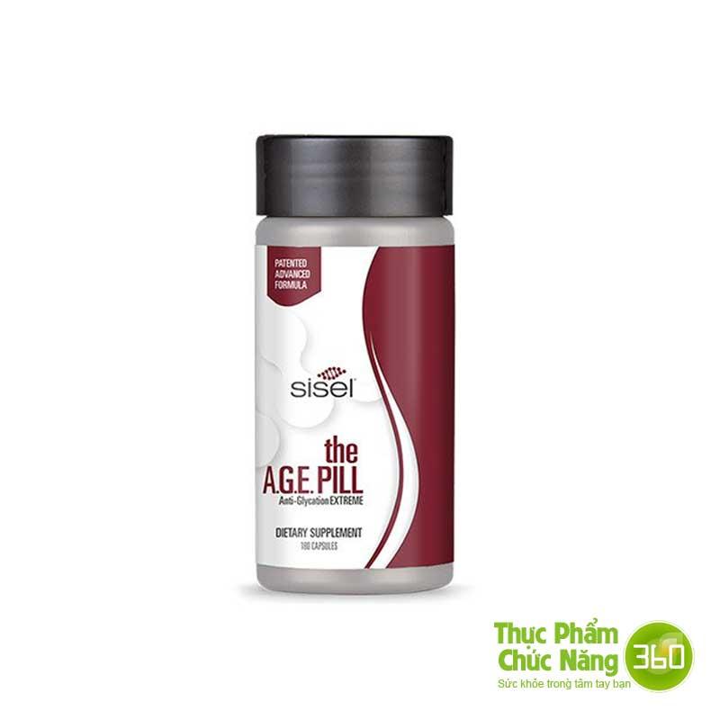 Viên uống Sisel Age Pill (Trẻ hóa tuổi 20)