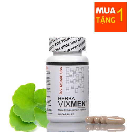 Herba Vixmen cải thiện sinh lực phái mạnh hiệu quả
