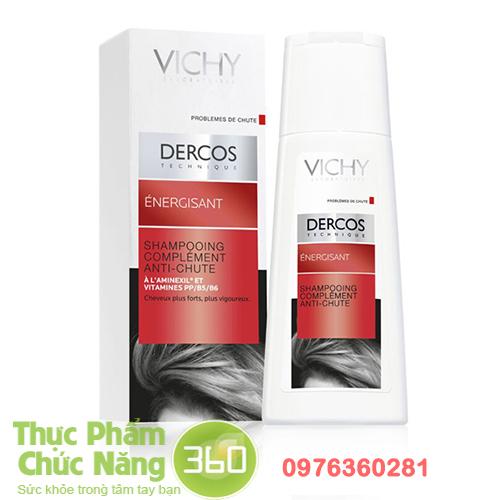 Dầu gội dưỡng tóc, ngăn rụng tóc Vichy Dercos Energisant Shampoo