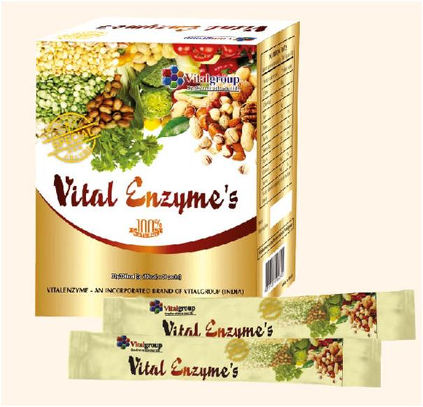 Enzymes vital hỗ trợ đào thải thanh lọc cơ thể toàn diện