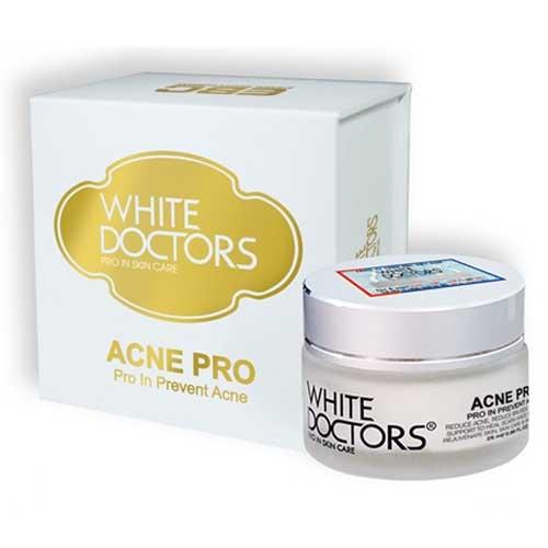 White Doctors Acne Pro Kem hỗ trợ giảm mụn, giảm sẹo thâm sẹo rỗ