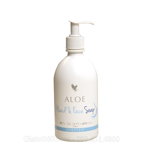 Aloe Hand & Face Soap sữa rửa mặt và tay cao cấp