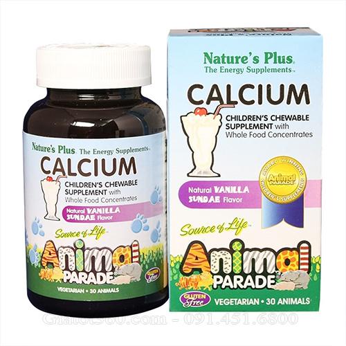 Animal Parade Calcium Giúp tăng trưởng chiều cao cho trẻ