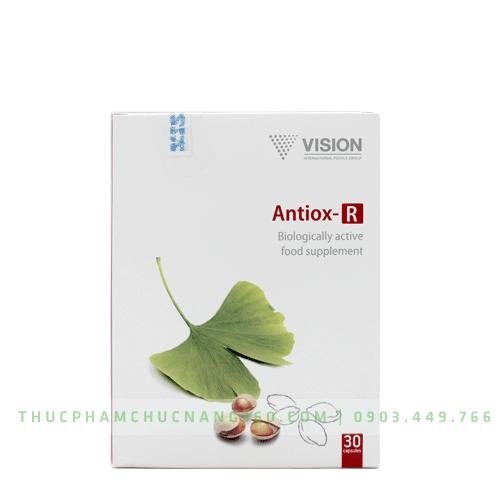 Antiox+ - Sản phẩm Vision bổ sung vitamin và khoáng chất