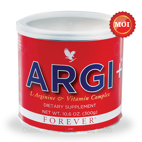 Argi+ L-arginine vitamin complex