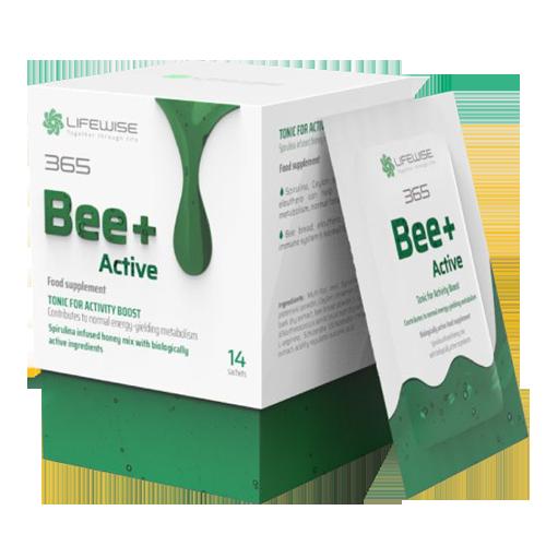 Bee+ Active - D4X get active vision mẫu mới - Tăng trương lực cơ thể, bổ sung năng lượng