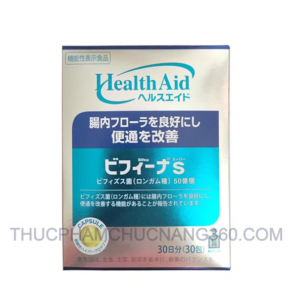 Men vi sinh Bifina S 30 gói từ Nhật Bản loại 5 tỉ lợi khuẩn/ gói