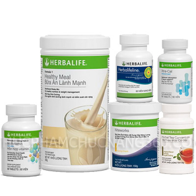 Bộ 6 tim mạch tối ưu Herbalife