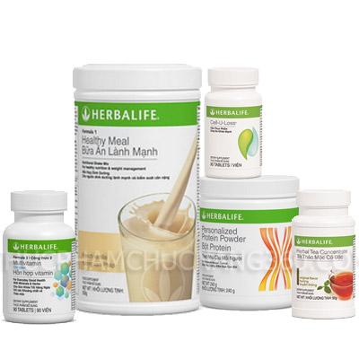 Bộ 5 giảm cân nâng cao Herbalife