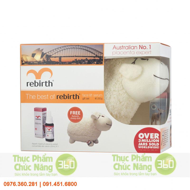 Bộ 1 sản phẩm và quà tặng The Best Of Rebirth - Lanopearl