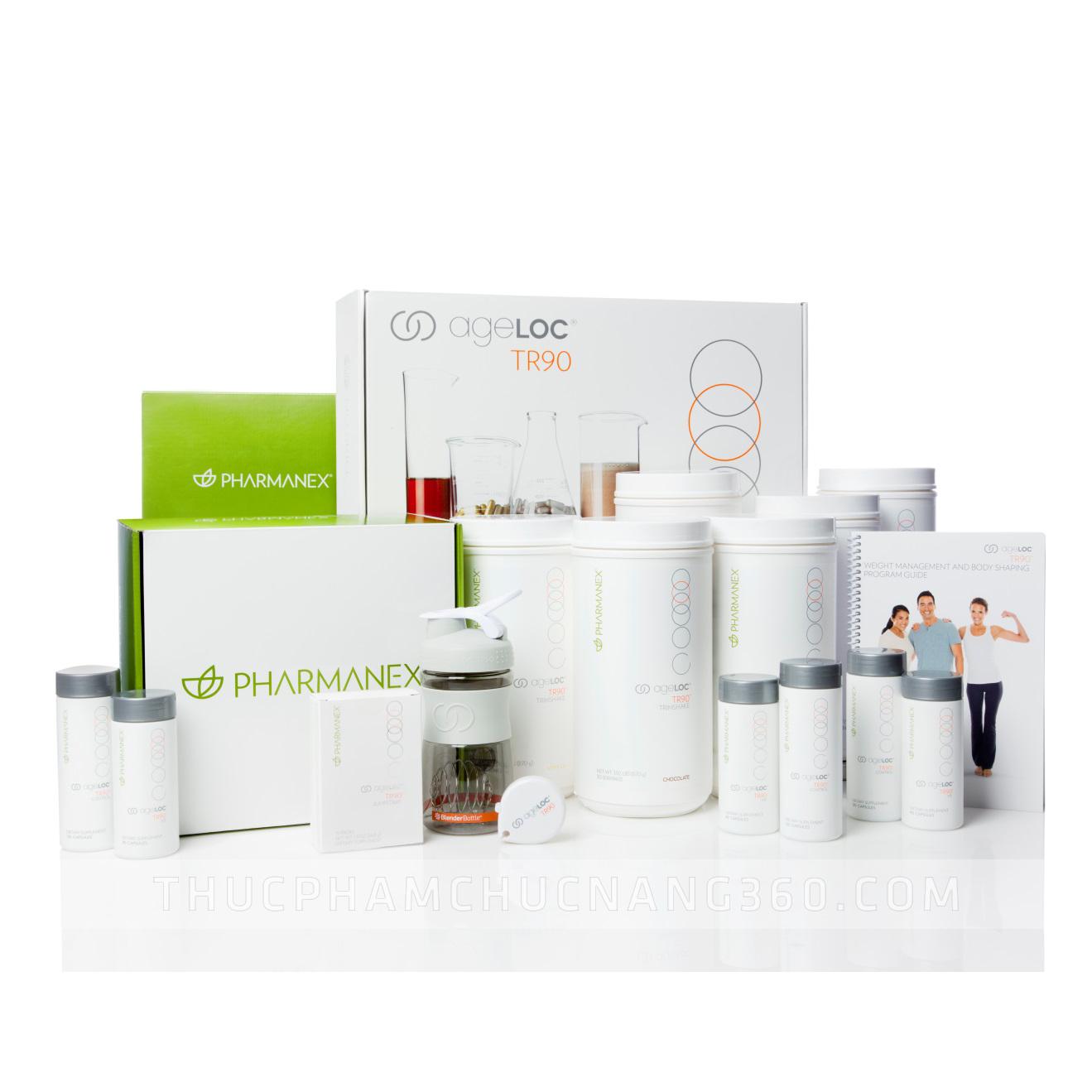 Nuskin AgeLOC TR90 Bộ sản phẩm giảm cân chống lão hóa số 1 trên thế giới