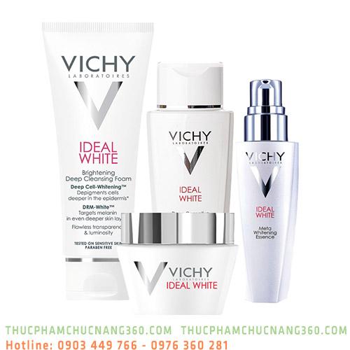 Bộ sản phẩm dưỡng ẩm làm trắng da Vichy Ideal White