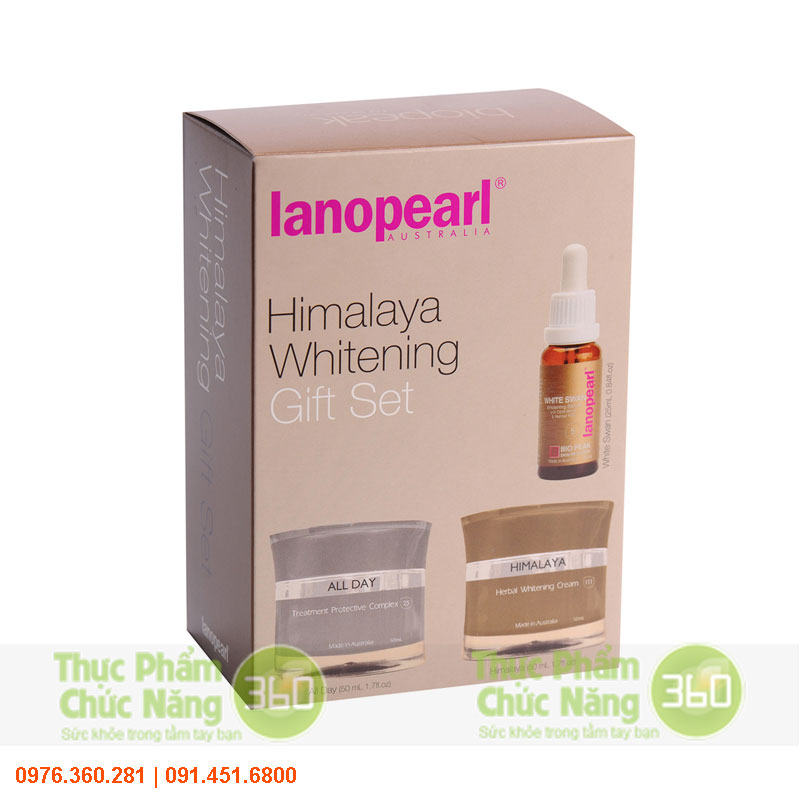 Bộ sản phẩm trị nám da và làm trắng - Lanopearl