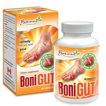 BoniGUT Sản phẩm hỗ trợ điều trị bệnh Gout tốt nhất