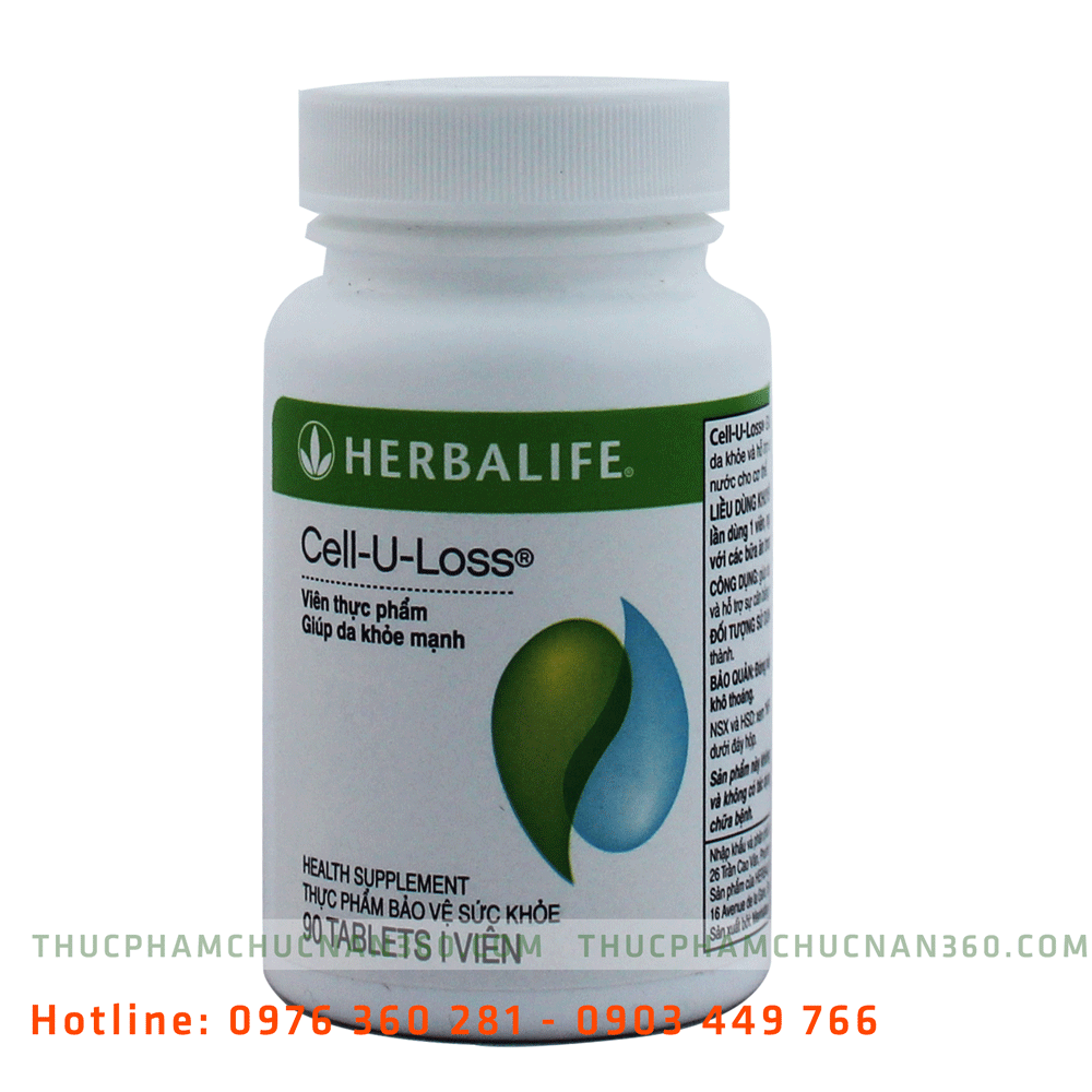 Cell U Loss Herbalife Giúp da khỏe mạnh