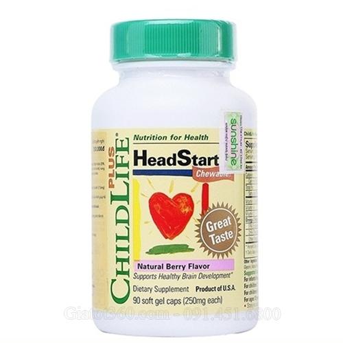 ChildLife HeadStart hỗ trợ phát triển thị lực và trí não cho trẻ
