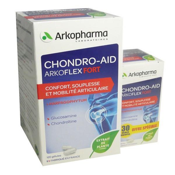 Viên Uống Chondro- Aid của Arkopharma Pháp Set 120v + 30v - Tốt cho xương khớp