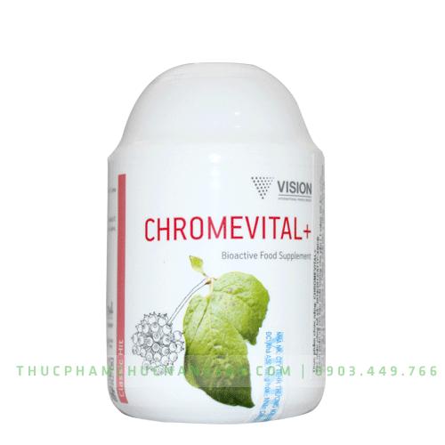 Chromevital+ - Sản phẩm Vision bù đắp sự thiếu hụt trong khẩu phần ăn