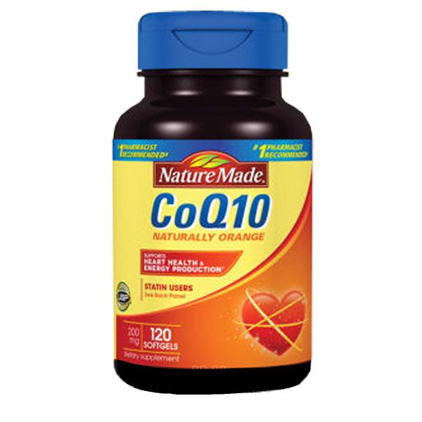 Nature Made CoQ10 cho trái tim khỏe mạnh