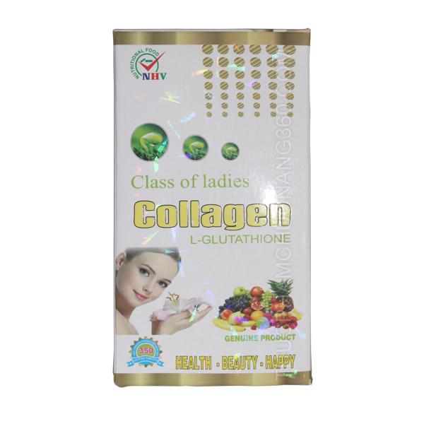 Thực phẩm chức năng Collagen L-Glutathione 350 viên