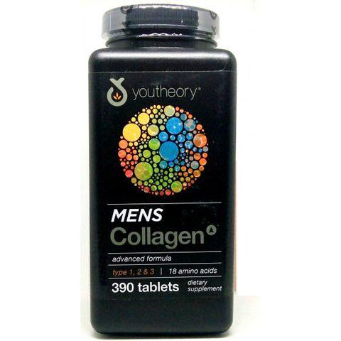 Viên uống Mens Collagen Youtheory Type 1 2 & 3  390 viên