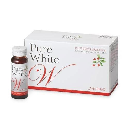 Collagen Shiseido pure white da sáng hơn, mịn màng hơn