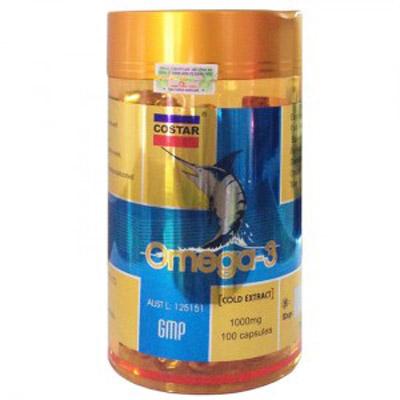 Dầu cá omega 3 costar 1000mg