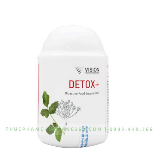 Detox+ - Sản phẩm Vision nâng cao sức đề kháng cho cơ thể