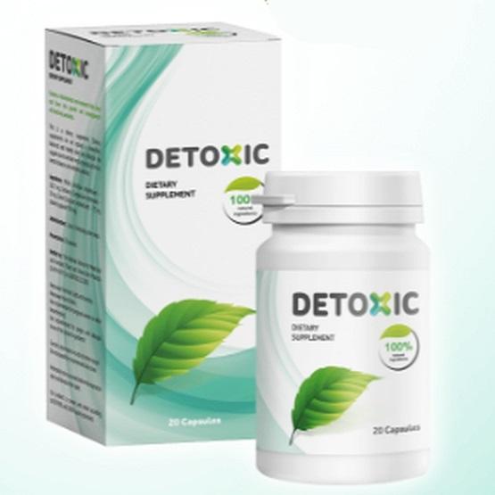 Thực phẩm chức năng Detoxic của Nga - Tiêu diệt ký sinh trùng cải thiện hệ tiêu hóa