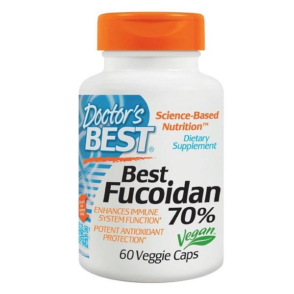 Doctor's Best Fucoidan Cancer -  Viên uống hỗ trợ điều trị bệnh ung thư