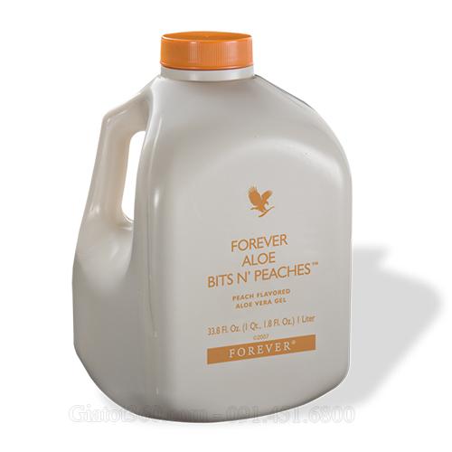 Nước uống dinh dưỡng Forever Aloe Bits Npeaches